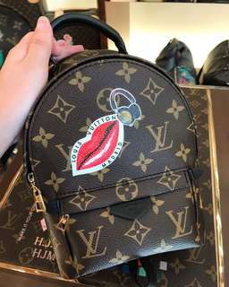 ✨Brand new LV 獨家訂製 Mini backpack 小背包🎒✨