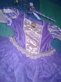 Disney Sofia the First Shimmering Costume w/ wand