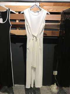 Zara White Jumpsuit