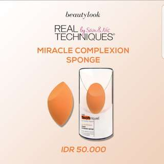 ⚃ [CLEARANCE SALE-001] REAL TECHNIQUES SPONGE MIRACLE ORI SINGAPORE NEW