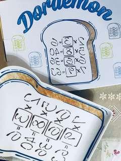鴻福堂 x 叮噹 多啦a夢 特別版 記憶麵包 竹纖維食物餐碟