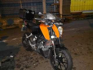 KTM DUKE 200 ABS VERSION