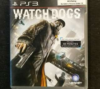 PS3 Watchdogs