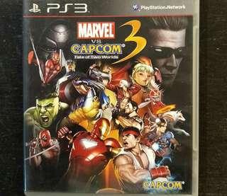 PS3 Ultimate Marvel vs Capcom 3