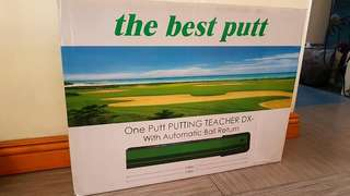 One Putt Putting Teacher