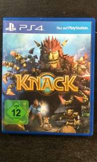 PS4 Knack (2 For $30)