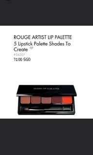 Make Up Forever Rouge Artist Lip Palette