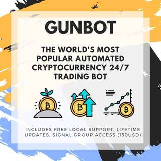 Gunbot Automated Cryptocurrency Trading Bot