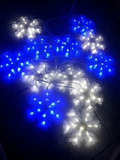 🚚 希艾吉 led 星星燈 雪花燈 氣氛燈 聖誕燈