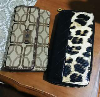 Original Us wallets (500 for two wallets)