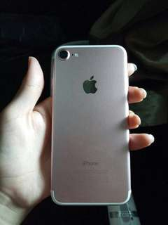 Iphone 7 rosegold 32gb murah