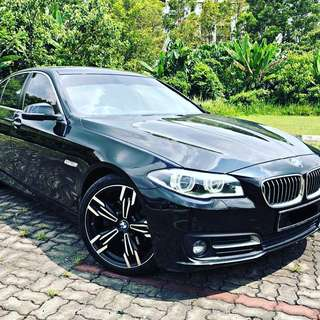 Bmw f10 facelift turbo continue loan