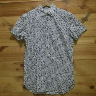 Burton menswear London prints shortsleeve shirt original