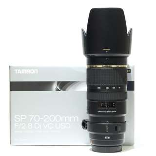Tamron SP 70-200mm F2.8 Di VC USD Lens (For Canon Mount)