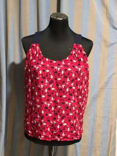 Forever 21 top open back