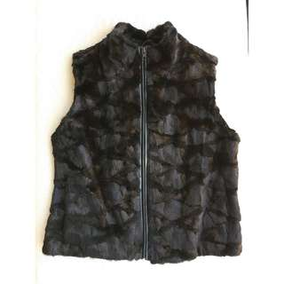 "Genuine ""Mink"" vest  *Made in Italy"