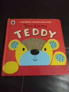 Ladybird Touch and Feel Book This Little Teddy