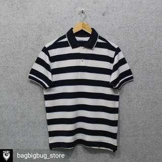UNIQLO Stripe Poloshirt -Size: M