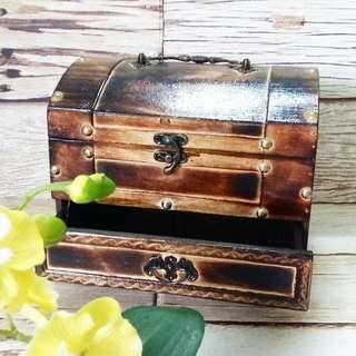 Vintage Wooden Box Brand New Unused