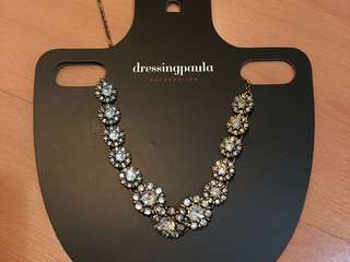 New Dressing Paula vintage necklace