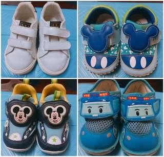 二手童鞋 米奇 波力 H&M Grendene 寶寶鞋 學步鞋 童鞋
