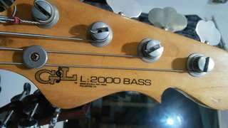 Bass G&L L2000 '98 Made In Usa + Hardcase SKB london