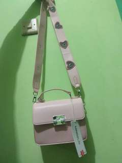 Miniso Bag Pink Love