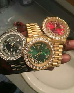Rolex Day-Date President Iced