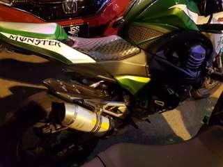 Untuk Di Jual Segera Kawasaki Z800 2013