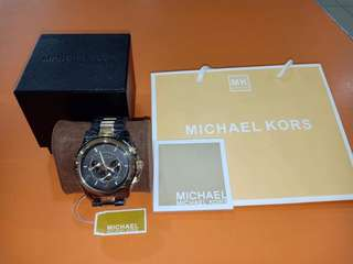 Michael Kors 8160 Oversized Chronograph Mens Watch