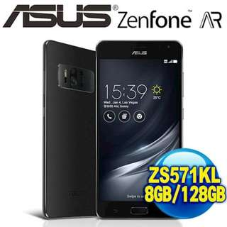 華碩 擴增實境旗艦機 ZenFone AR ZS571KL 8G/128G 5.7吋 2300萬畫素 三鏡頭 公司貨