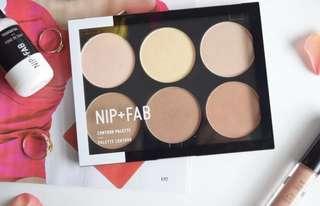 NEW Nip + Fab Contour Palette in 01 Light