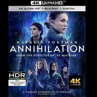 [Rent-A-4K-Movie] ANNIHILATION (2018)