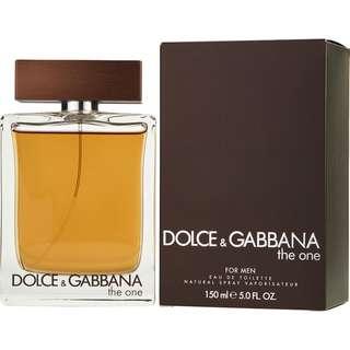 DOLCE & GABBANA D&G THE ONE EDT FOR MEN 100ML