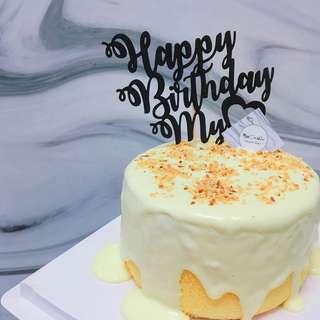 Miss Marble首創芝士奶蓋流心蛋糕🎂