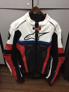 Alpinestar Leather Bikers Jacket (CE certified)