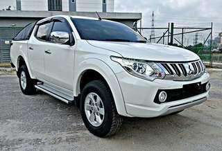 Mitsubishi triton 2.4 auto 2017 sambung bayar or continue loan