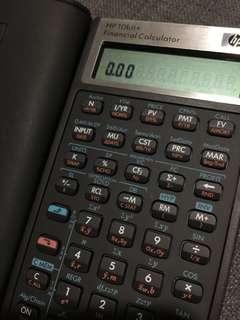 FINANCIAL CALCULATOR HP 10bII+