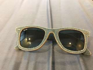 Authentic Ray-Ban Denim Wayfarers