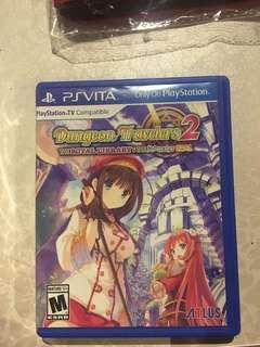 Psvita Game Dungeon Travelers 2