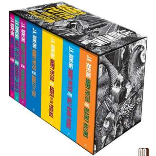 Harry Potter Boxed Set: The Complete Collection (Adult Paperback) [PO]