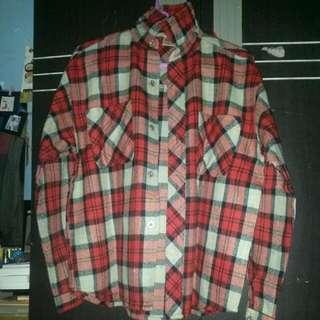 Flannel Buat Cewe No Brand