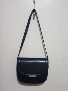 Black Vintage Chevalier cross body bag