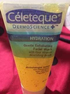 Celeteque Gentle exfoliating facial wash