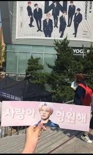 Hand banner