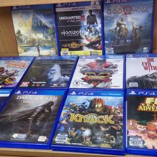 Selling Ps4 Games and DS4 V2