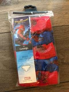 4-5yrs Spiderman pants x5