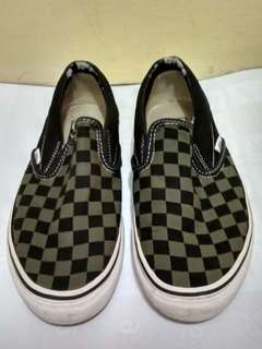 VANS SLIP-ON CHECKERBOARD SIZE 7