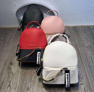 Original Charles and Keith Back pack backpack