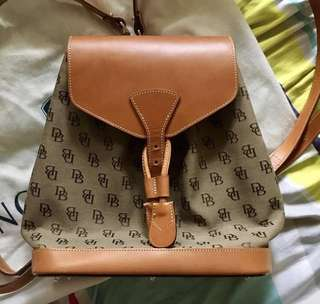 Guaranteed Authentic Dooney and Bourke Small Backpack